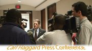 Carl Haggard Press Conference
