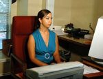 Andrea: Secretary and Office Receptionist